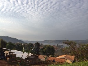 The view from the Banso Baptist House in Kumbo