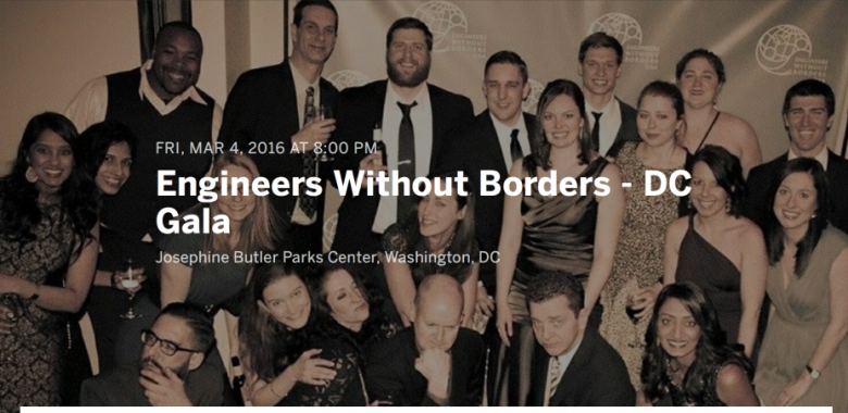 Tickets on Sale Now! EWB-DC 2nd Annual Spring Gala